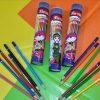 مداد رنگی استوانه ای 12 رنگ پارسیکار