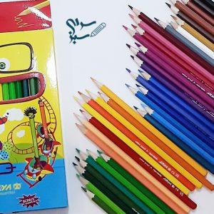 مداد رنگی 36 رنگ آریا