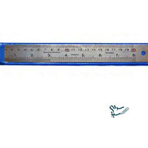 خط کش فلزی 20 سانتی متری