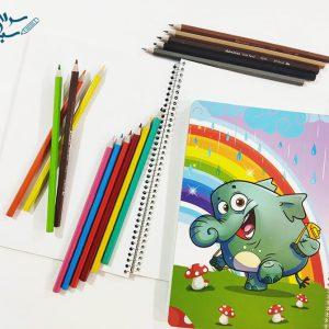 دفتر نقاشی 50 برگ فانتزی