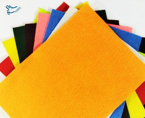 پارچه نمدی رنگی بسته 10 تایی